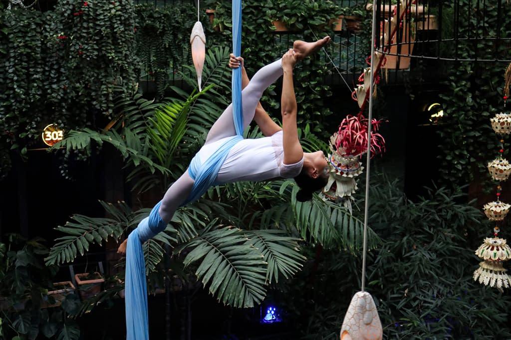 aerial silk firma event
