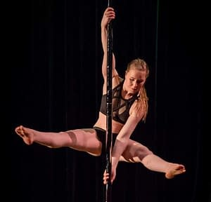 pole dance konkurrence træning_ronja