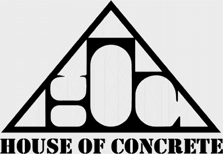 house of concrete logo